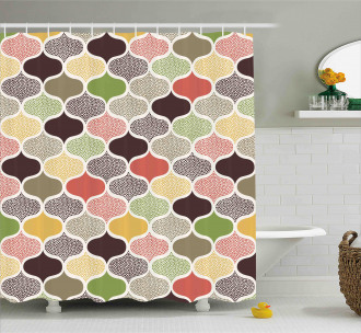 Oriental Morrocan Design Shower Curtain