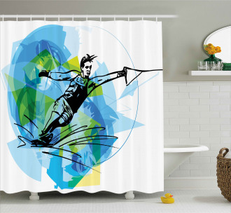 Exotic Sealife Hobby Shower Curtain