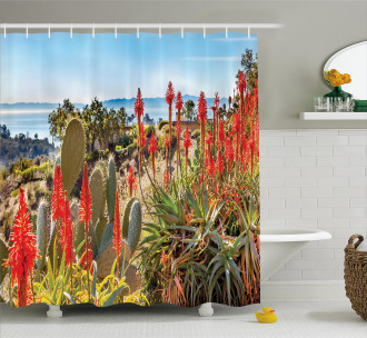 Desert Mountain Photo Shower Curtain