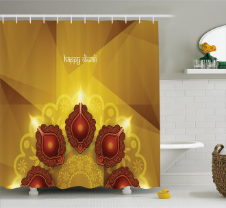 Paisley Traditional Tribal Shower Curtain