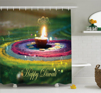 Festive Wish Shower Curtain