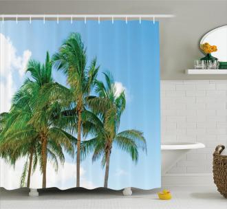 Exotic Idyllic Nature Shower Curtain