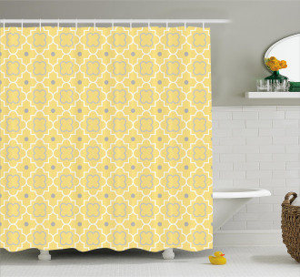 Pattern with Moroccan Shower Curtain