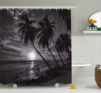 Horizon over Sea Picture Shower Curtain