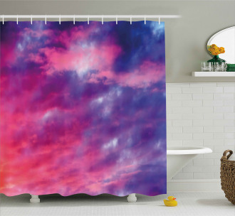 Magical Cloudy Sunset Shower Curtain