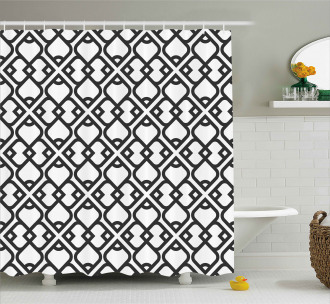 Middle Eastern Effect Shower Curtain