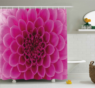 Fresh Bloom Petal Nature Shower Curtain