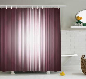 Futuristic Computer Art Shower Curtain