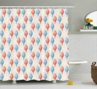 Creamy Sugary Desserts Shower Curtain