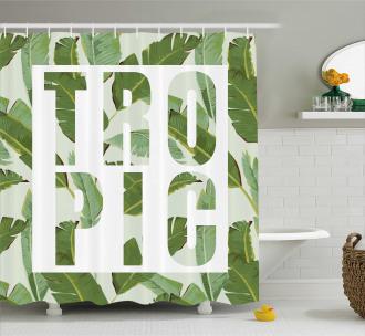 Perennial Shrubs Dreamy Shower Curtain