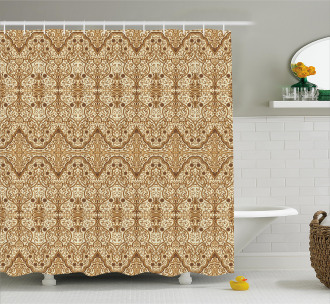 Middle Eastern Arabic Shower Curtain