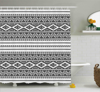 Oriental Tribal Moroccan Shower Curtain