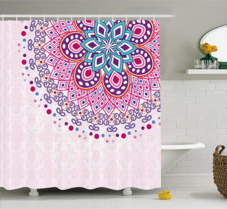 Ornamental Figure Shower Curtain
