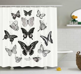 Modern Realistic Artwork Shower Curtain