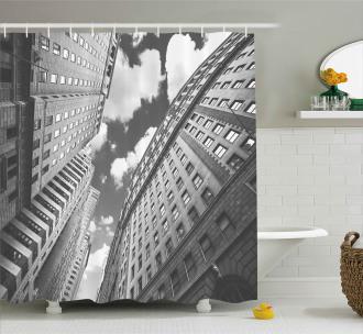 Sky in Manhattan Shower Curtain