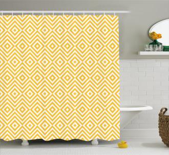 Triangle Square Shape Shower Curtain