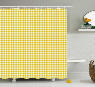 Summer Squares Shower Curtain