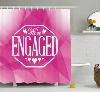 Party Celebration Shower Curtain