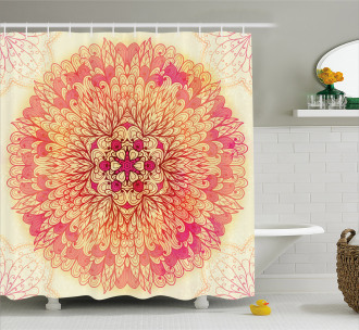 Lively Flora Shower Curtain