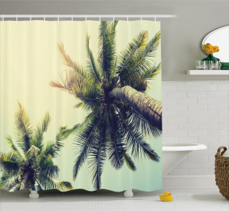 Caribbean Coastline Ocean Shower Curtain