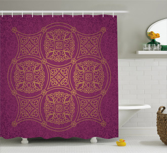Persian Ornate Shower Curtain