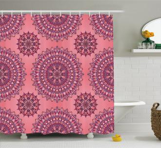 Ancient Bohemian Shower Curtain