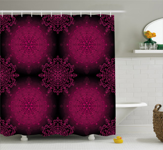 Psychedelic Boho Shower Curtain