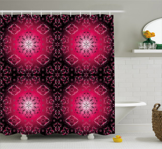 Ethnic Sacred Shower Curtain