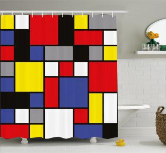 Colorful Pop Design Shower Curtain