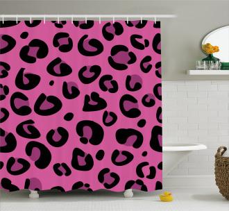 Leopard Animal Skin Shower Curtain