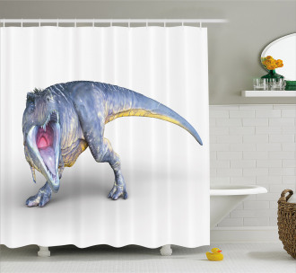 Monstrous Creature Shower Curtain