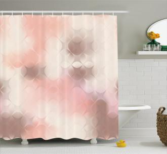 Squares Modern Artwork Shower Curtain