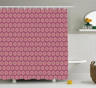 Mandala Retro Ethnic Shower Curtain