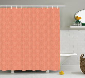 Ornate Spring Flower Shower Curtain