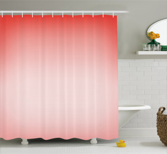 Abstract Ombre Feminine Shower Curtain