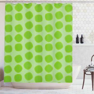 Simple Geometrical Shower Curtain