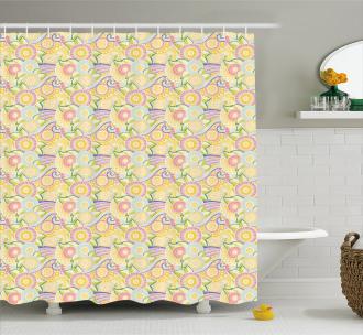 Ornamental Nature Shower Curtain