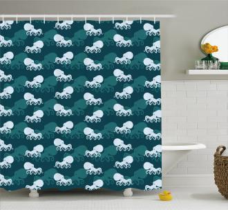 Modern Animal Concept Shower Curtain