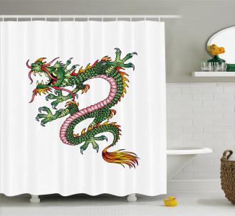 Fantasy Figure Shower Curtain