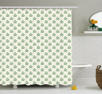 Exotic Island Relaxing Shower Curtain