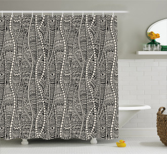African Ethnic Shower Curtain