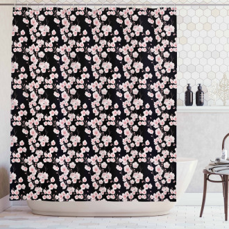 Natural Rustic Shower Curtain