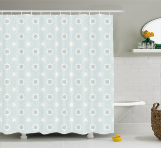 Archaic Moroccan Shower Curtain