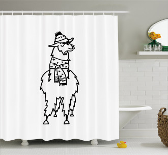 South American Animal Shower Curtain
