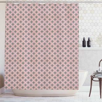 Ornate Rhombus Shower Curtain