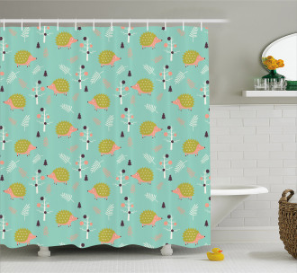 Countryside Life Art Shower Curtain