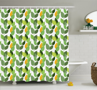 Mother Nature Foliage Shower Curtain
