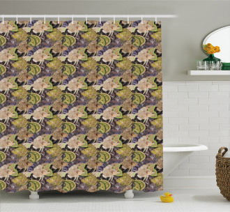 Zentangle Fish Paisley Shower Curtain