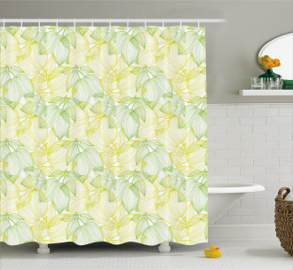 Cage Inspired Drawing Shower Curtain