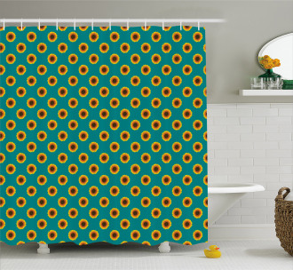 Summer Harvest Shower Curtain
